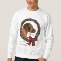 Vizsla Christmas Gifts Sweatshirt