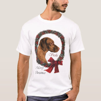 Vizsla Christmas Gifts T-Shirt