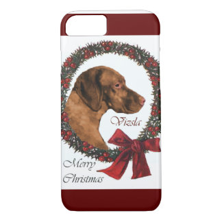 Vizsla Christmas iPhone 8/7 Case