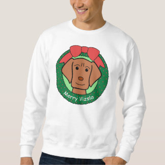 Vizsla Christmas Sweatshirt