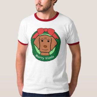 Vizsla Christmas T-Shirt
