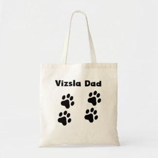 Vizsla Dad Canvas Bag