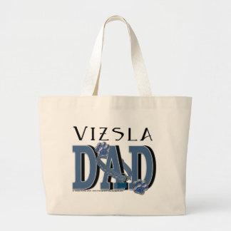 Vizsla DAD Canvas Bags