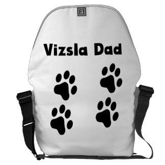 Vizsla Dad Messenger Bag