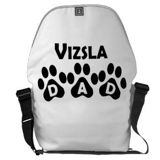 Vizsla Dad Messenger Bags