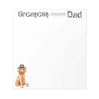 Vizsla Dad Notepad