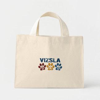 VIZSLA Dad Paw Print 1 Tote Bag