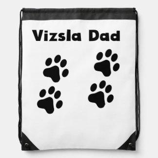 Vizsla Dad Drawstring Bag