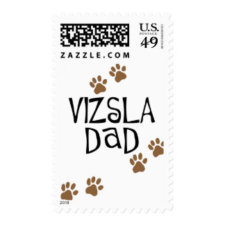 Vizsla Dad Stamp