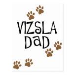 Vizsla Dad Postcard