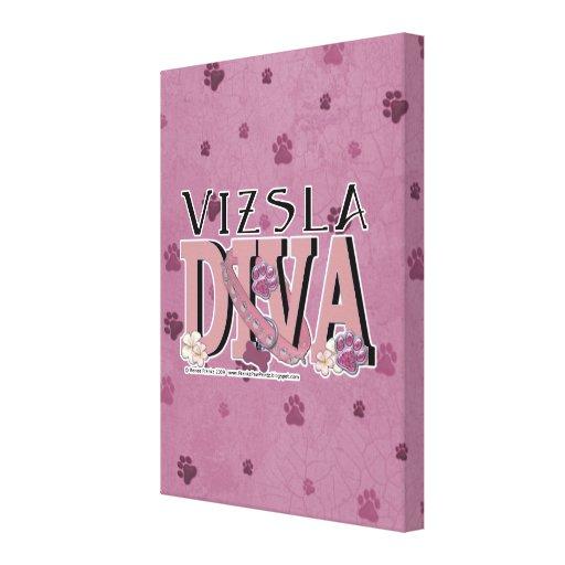 Vizsla DIVA Canvas Print