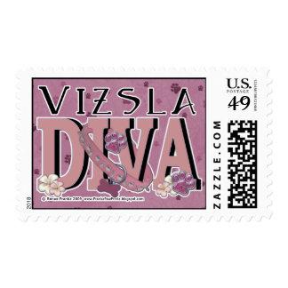 Vizsla DIVA Stamp