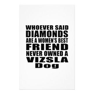 VIZSLA DOG BEST FRIEND DESIGNS STATIONERY