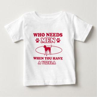 Vizsla dog breed designs t shirt