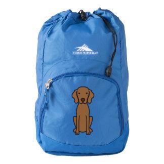 Vizsla Dog Cartoon Backpack