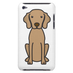 Case-Mate iPod Touch Barely There Case with Vizsla Phone Cases design
