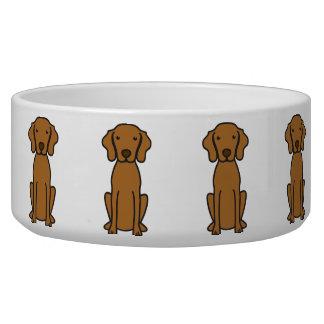Vizsla Dog Cartoon Bowl