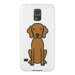 Case-Mate Barely There Samsung Galaxy S5 Case with Vizsla Phone Cases design