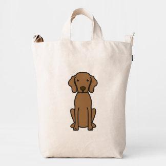 Vizsla Dog Cartoon Duck Bag