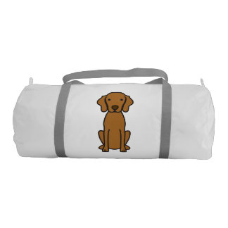 Vizsla Dog Cartoon Gym Bag
