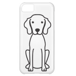 Case-Mate Barely There iPhone 5C Case with Vizsla Phone Cases design