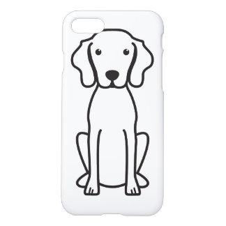 Vizsla Dog Cartoon iPhone 8/7 Case