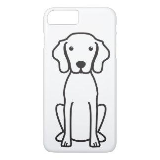 Vizsla Dog Cartoon iPhone 8 Plus/7 Plus Case