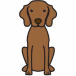 Vizsla Dog Cartoon Photo Cutouts