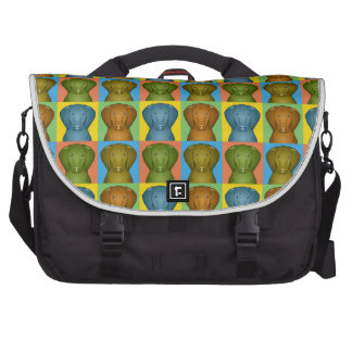 Vizsla Dog Cartoon Pop-Art Laptop Bag
