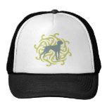 Vizsla Dog Design (lime & slate) Hat