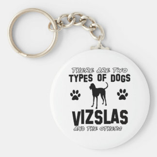 Vizsla dog Designs Keychain