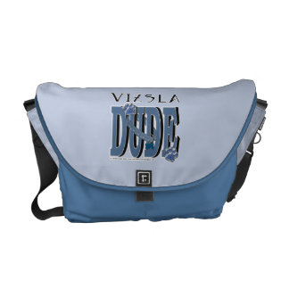 Vizsla DUDE Courier Bag
