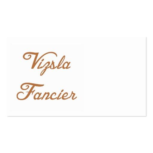 vizsla fancier.png business card template