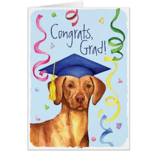 Vizsla Graduate Card