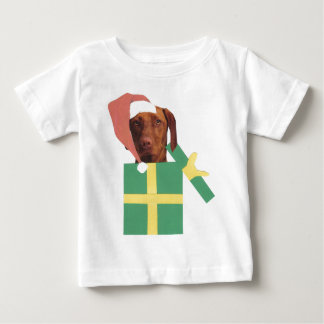 Vizsla Green Gift Box Baby T-Shirt