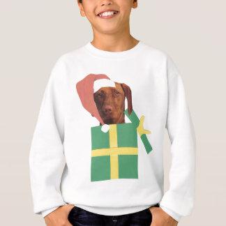 Vizsla Green Gift Box Sweatshirt