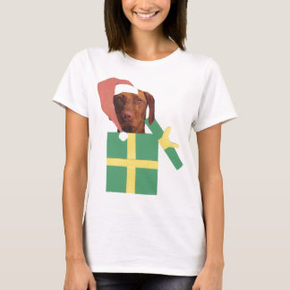 Vizsla Green Gift Box T-Shirt
