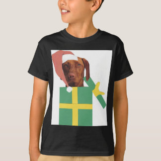 Vizsla Green Gift Box T-Shirt