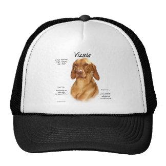Vizsla History Design Hats