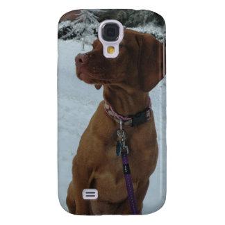Vizsla in Winter Wonderland Samsung Galaxy S4 Cover