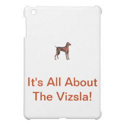 Case Savvy iPad Mini Glossy Finish Case with Vizsla Phone Cases design
