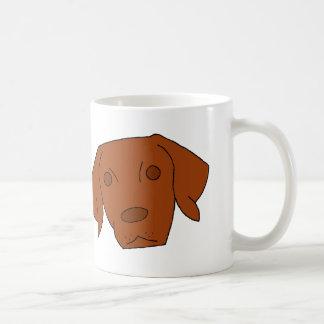 Vizsla lindo taza clásica