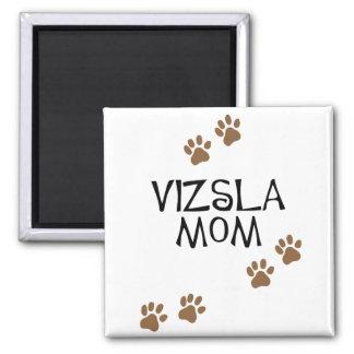 Vizsla Mom 2 Inch Square Magnet