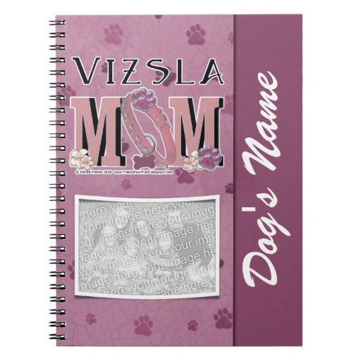 Vizsla MOM Notebook
