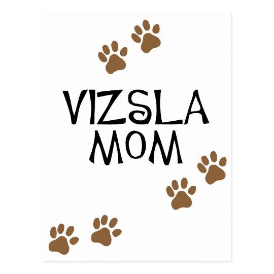 Vizsla Mom Postcard