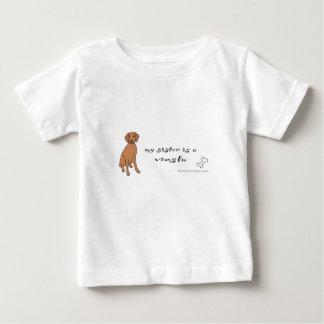 vizsla - more breeds infant t-shirt