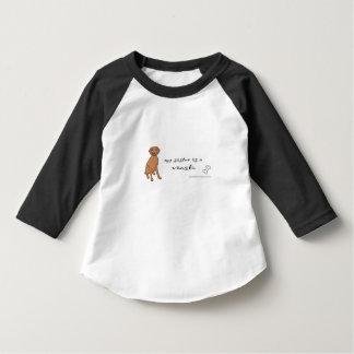 vizsla - more infant t-shirt