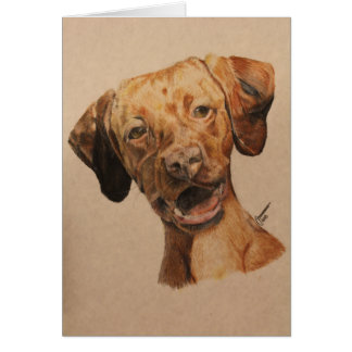 Vizsla Note Card