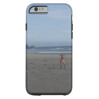 Vizsla on beach phone case tough iPhone 6 case