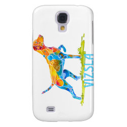 VIZSLA on POINT in Vivid Colors Samsung S4 Case